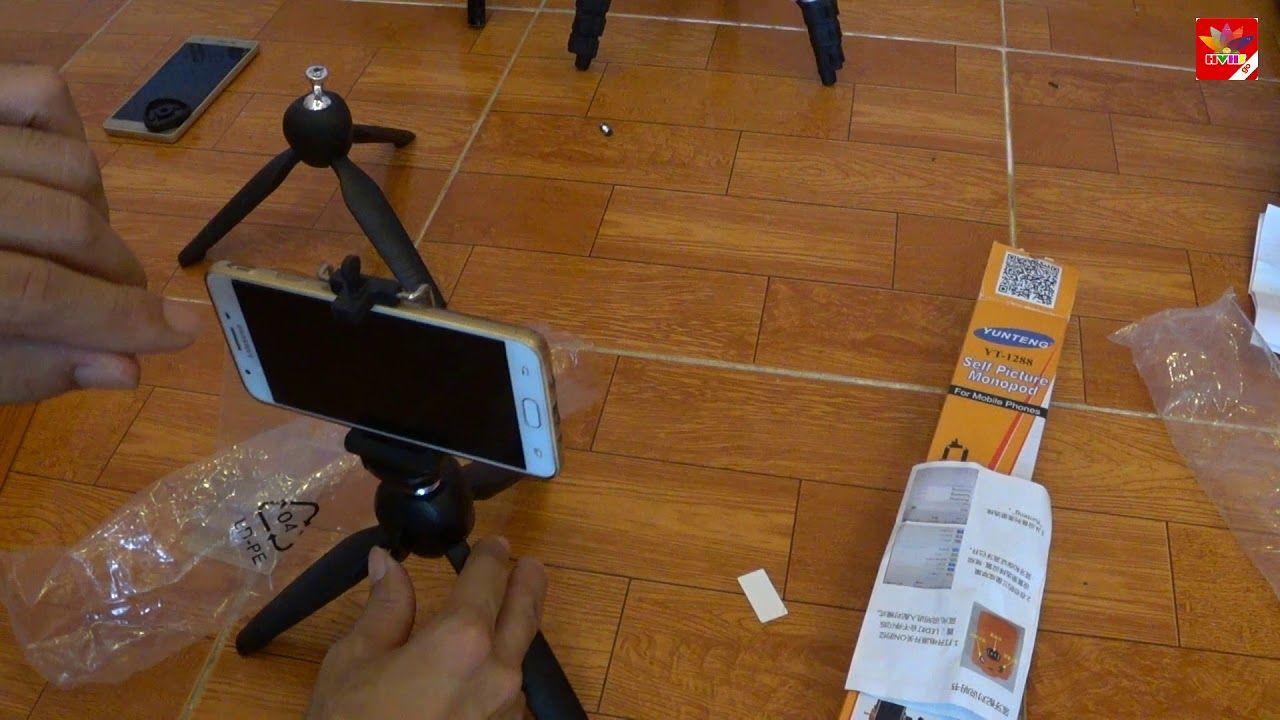 YUNTENG YT288 Chân điện thoại máy ảnh máy quay chính