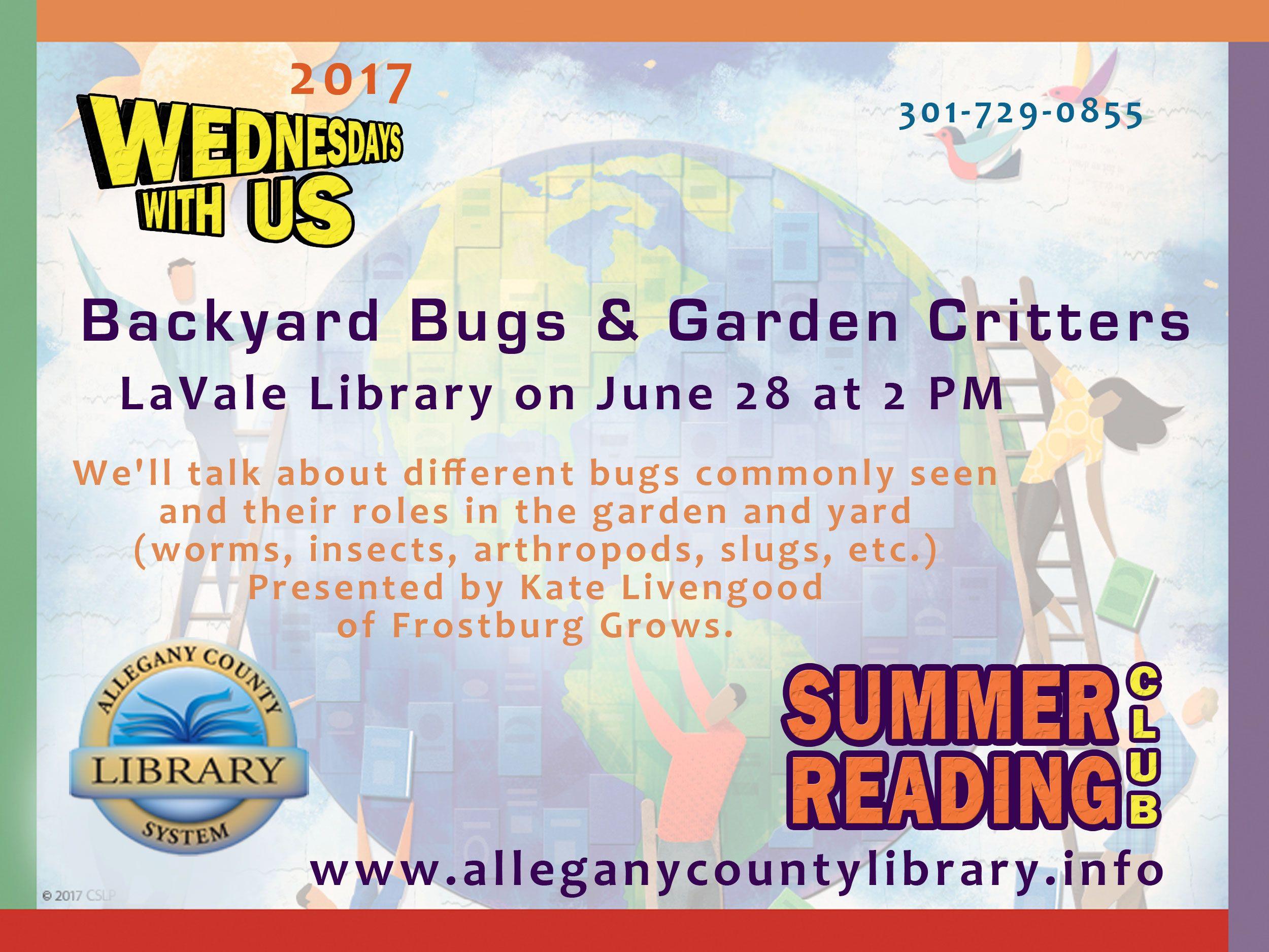 backyard bugs u0026 garden critters what is that bug we u0027ll talk