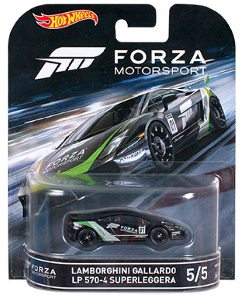 Lamborghini Gallardo LP 570-4 Forza 1:64 Hot Wheels Retro Entertainment DJF55