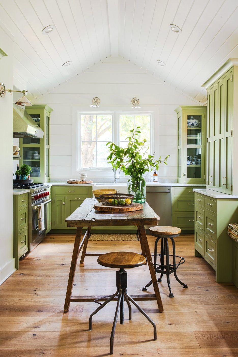 Küchenschrank Farben Für Kleine Küchen - Was ist die gemeinsame ...