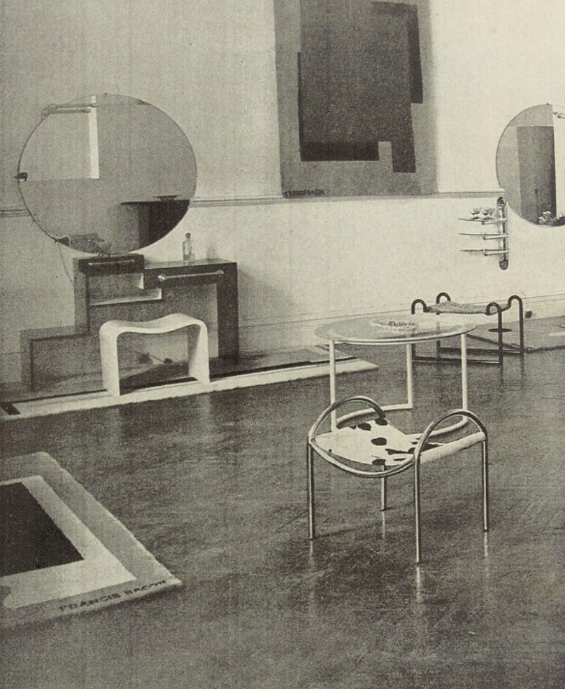 The Only Documentation Of Francis Bacon S Interior Design
