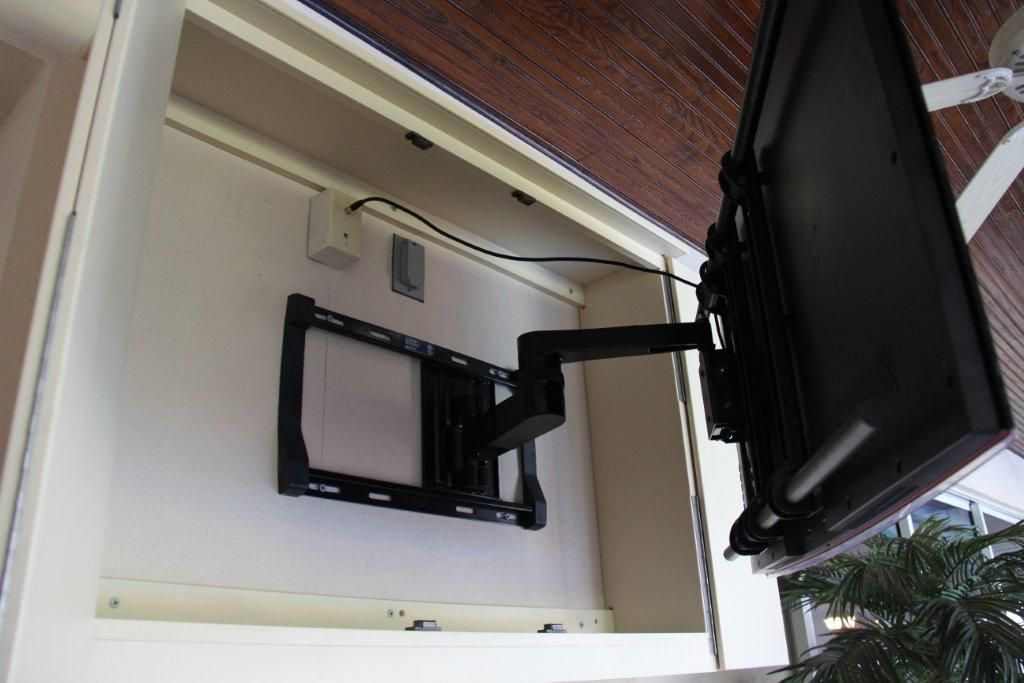 Outdoor Tv Cabinet Arm Extended 1,024×683 Pixels
