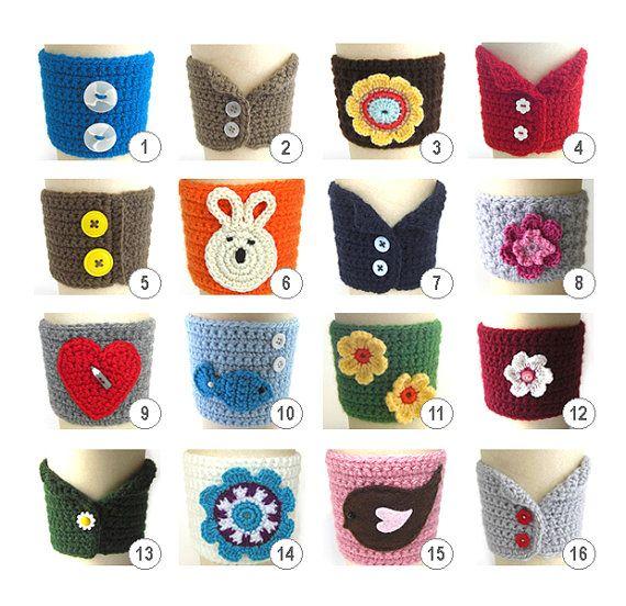 WoooW :) like it | Crochet patterns | Pinterest | Vasos, Tejido y ...