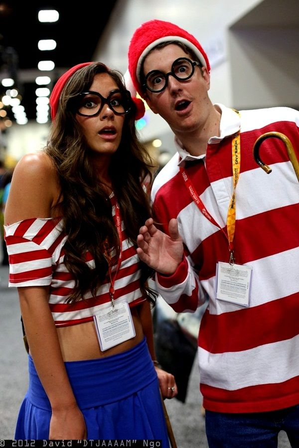 Marvelous 30 Complementary Couple Costume Ideas Clever Couple Costumes, Clever  Couples Halloween Costumes, Zombie Couple