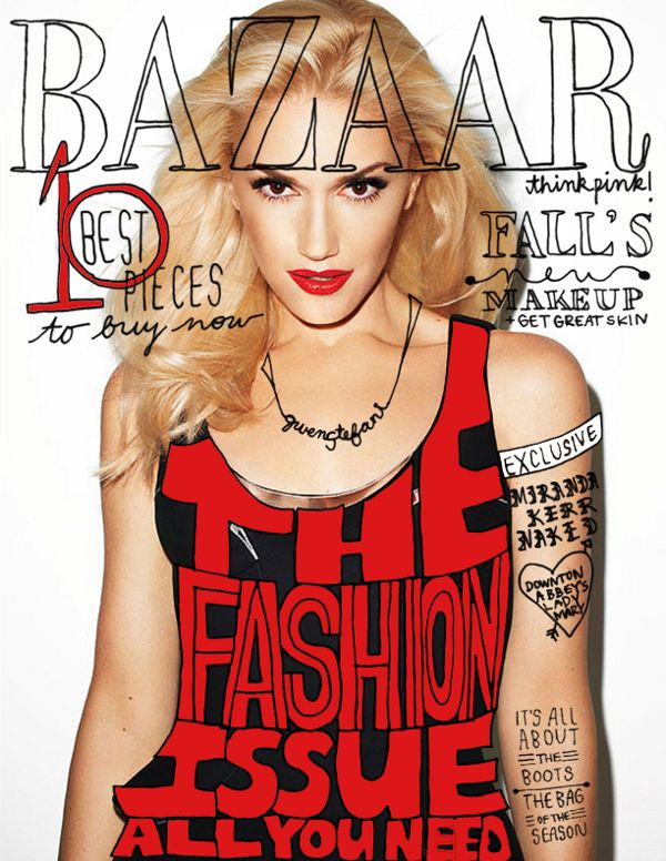 I Like This Design Because The Black And Red Contrast Well With The White Background And Make Fashion Magazine Cover Magazine Cover Ideas Magazine Cover Layout
