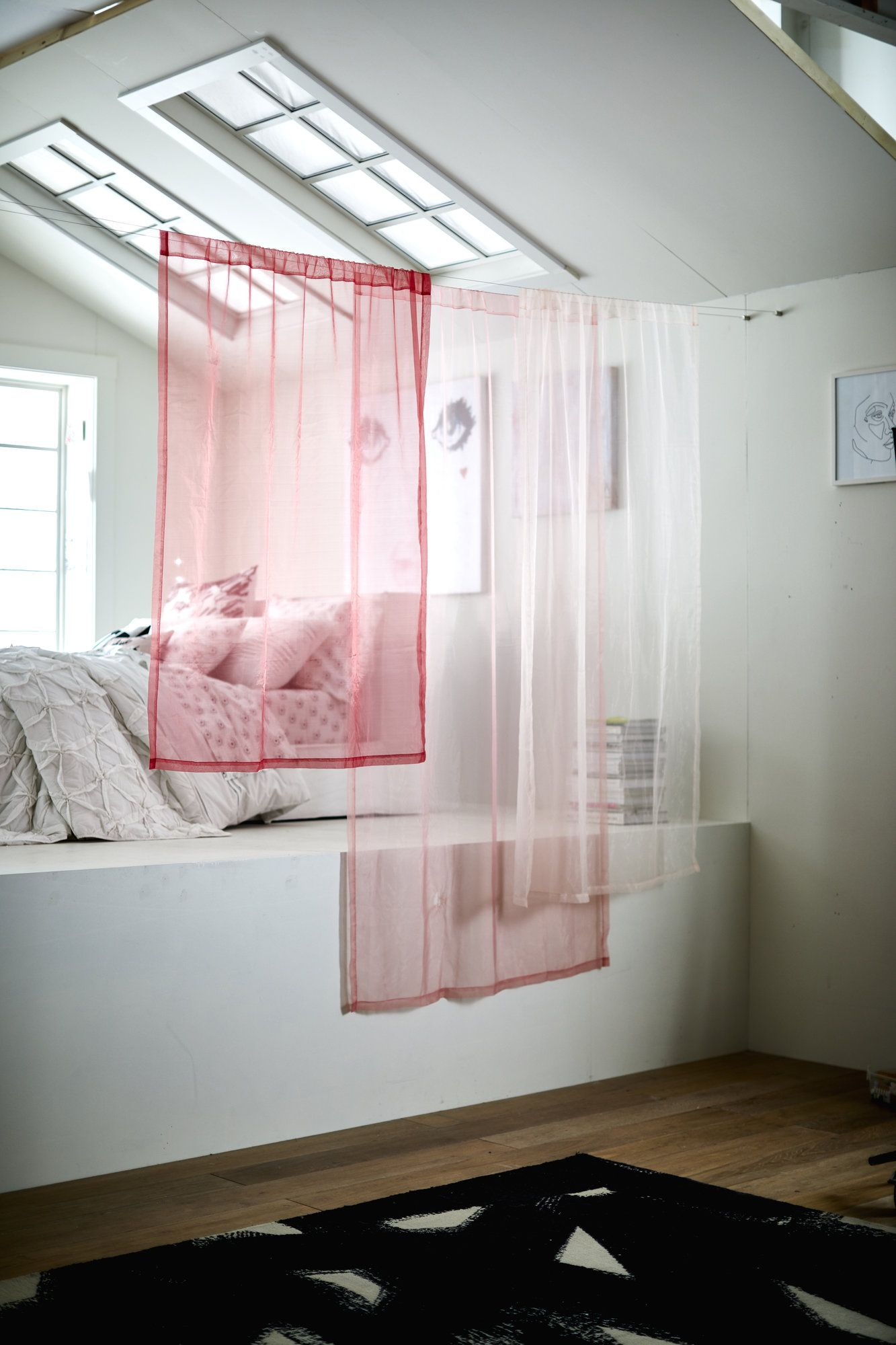 ec2693f6e342 Isabella Rose Taylor Hanging Sheer Panels. Designed exclusively for PBteen  with teen artist and fashion designer Isabella Rose Taylor, these artistic  ...