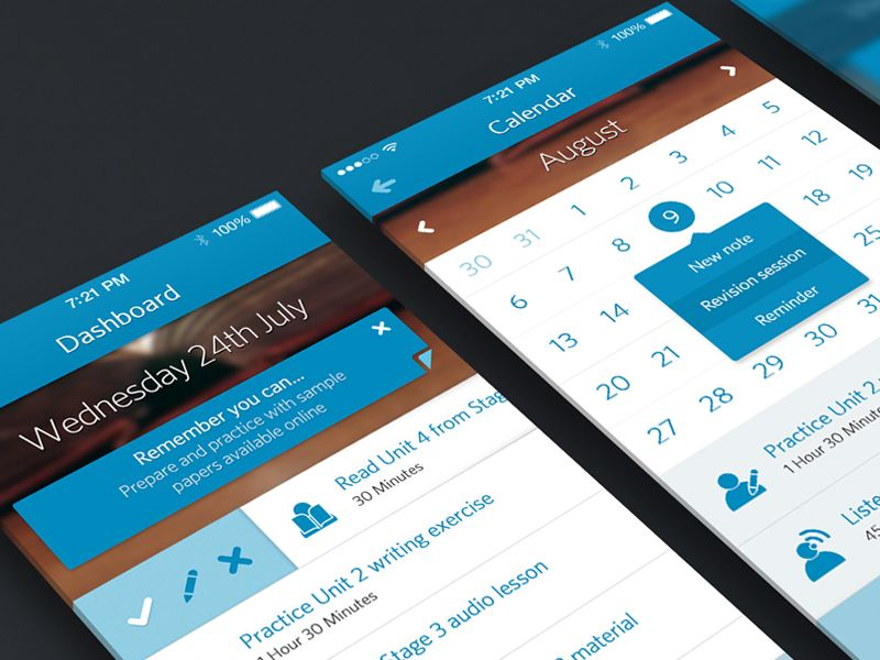 iOS 7 University App - by Joe Mortell    #ui