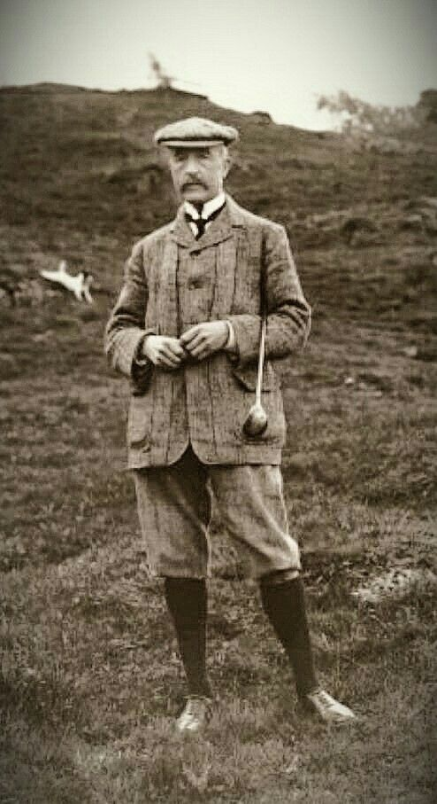 norfolk outfit - combination outfit of knickerbockers and ...