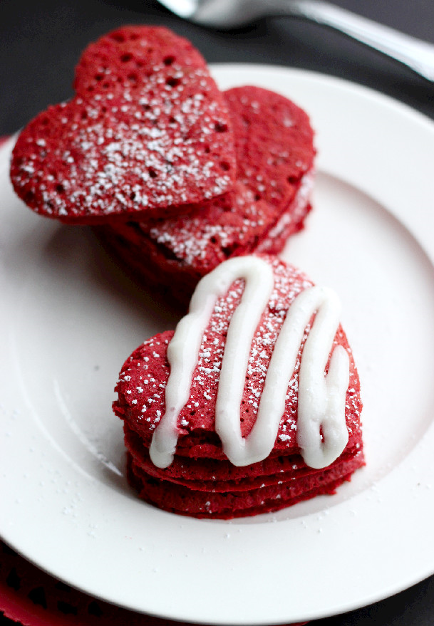 Culinary Couture: Red Velvet Pancakes