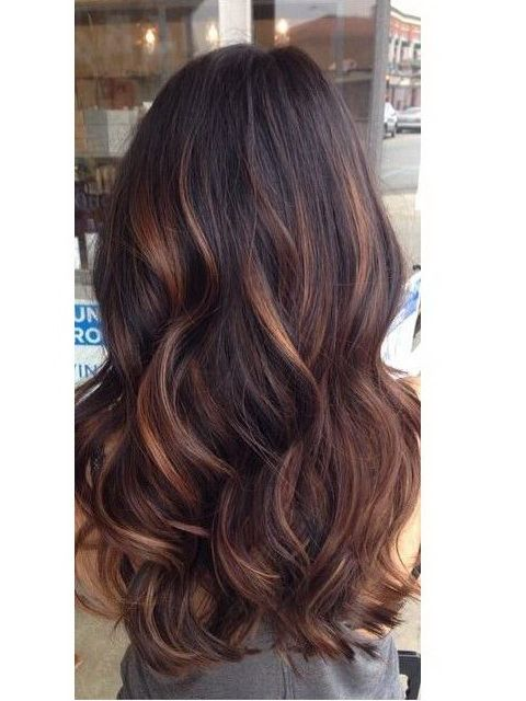 Balayage hairstyles use indian remy clip in hair extensions H05B ...