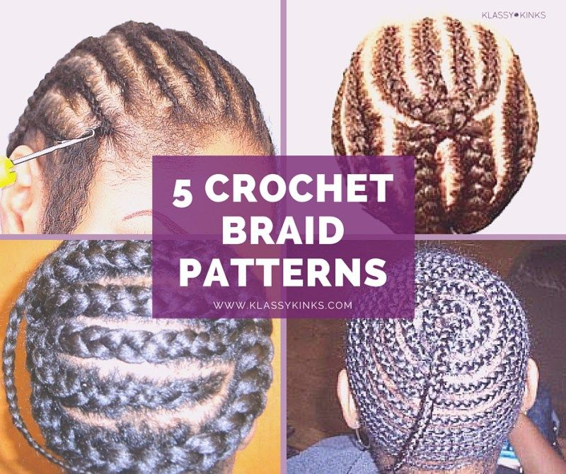 5 Of The Best Crochet Braid Patterns With Images Crochet Braid