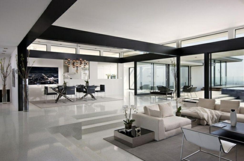 Wohnzimmer Schwarz ~ Moderne wohnzimmer weis wohnzimmer design schwarz weiss and