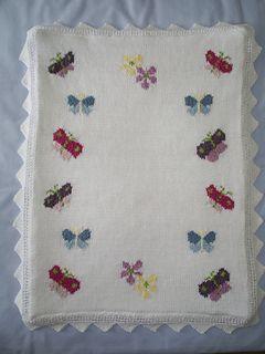 Butterflies Baby Blanket pattern by Gwennol Designs ...
