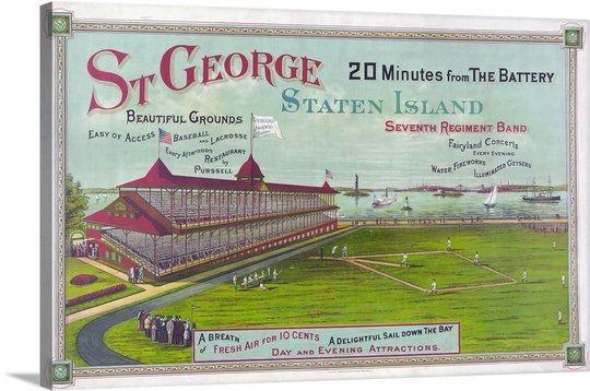 Baseball Field At St George Park Staten Island In 2020 Staten Island New York Staten Island Baseball