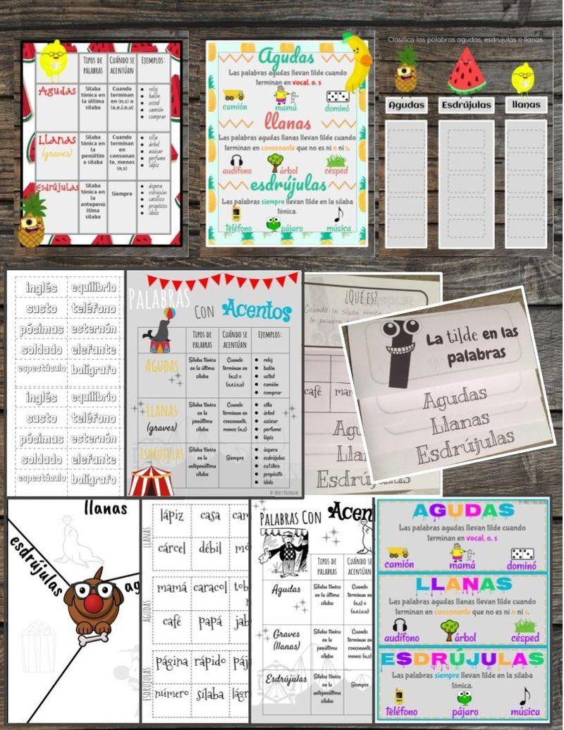 Reglas para los acents de Español/ Rules for Spanish ...