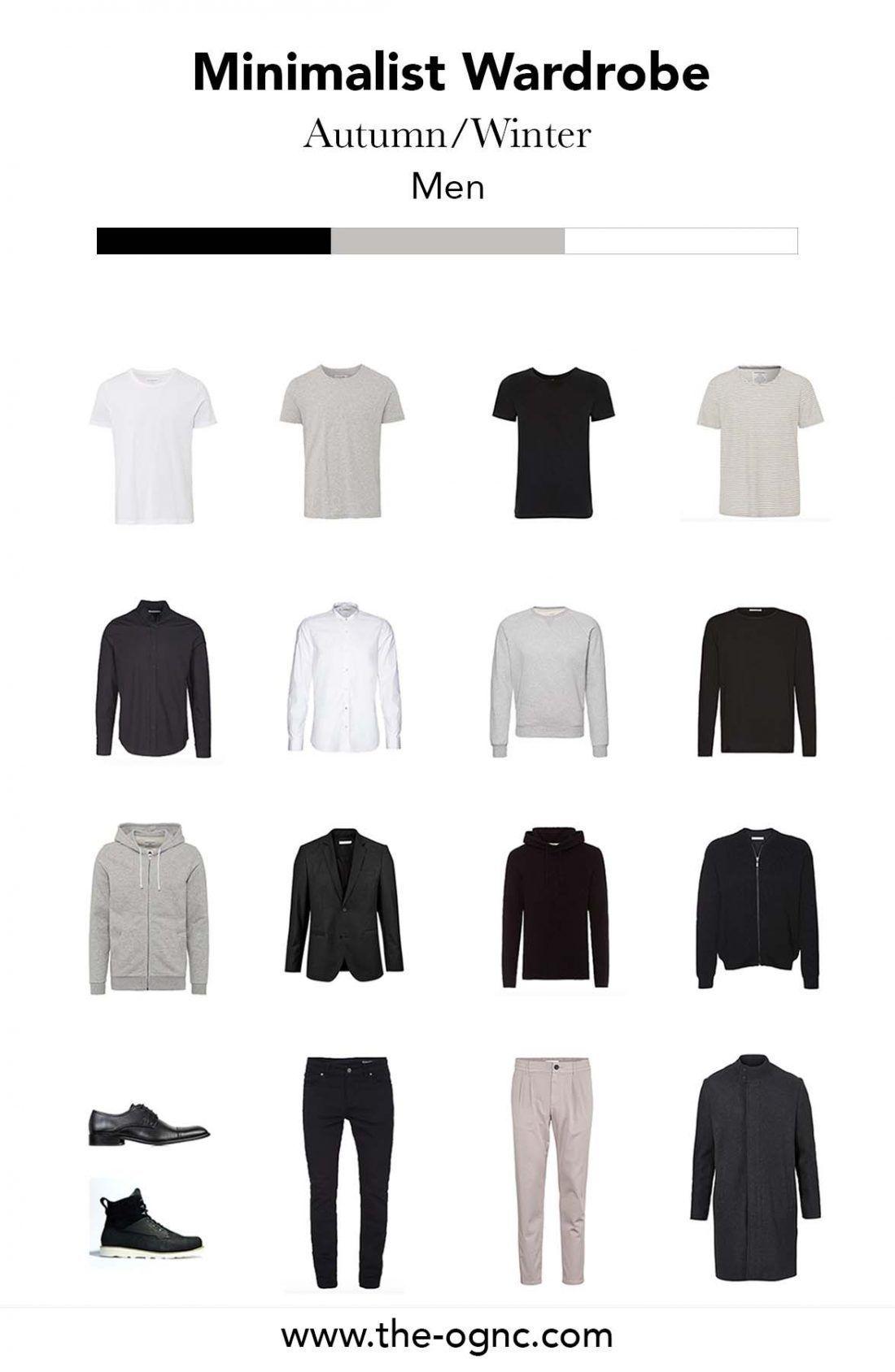 Photo of Minimalist Wardrobe für den Mann – Herbst/Winter