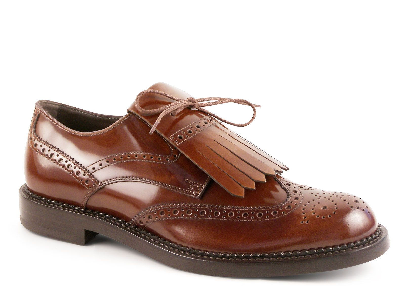 af7b6758bc2 Tod s men old cuir Shiny calf leather lace-up shoes - Italian Boutique €364