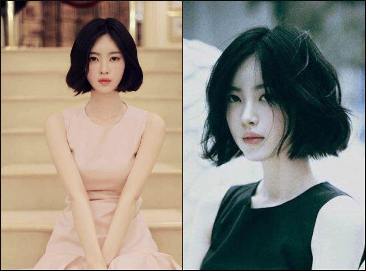 jet black bob hairstyles for asian women | hair inspiration