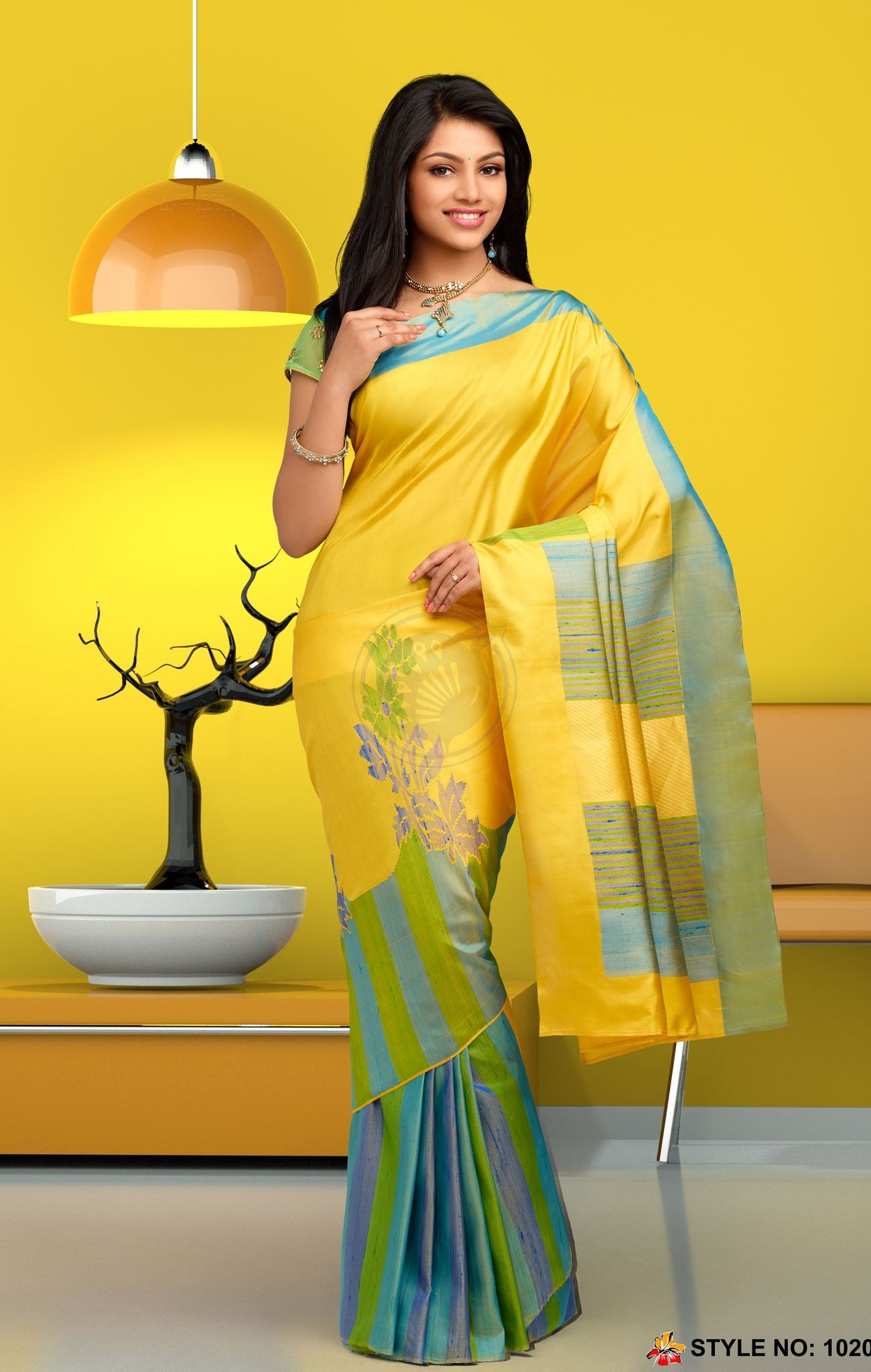 Rich Feel Soft Silk Saree 1020