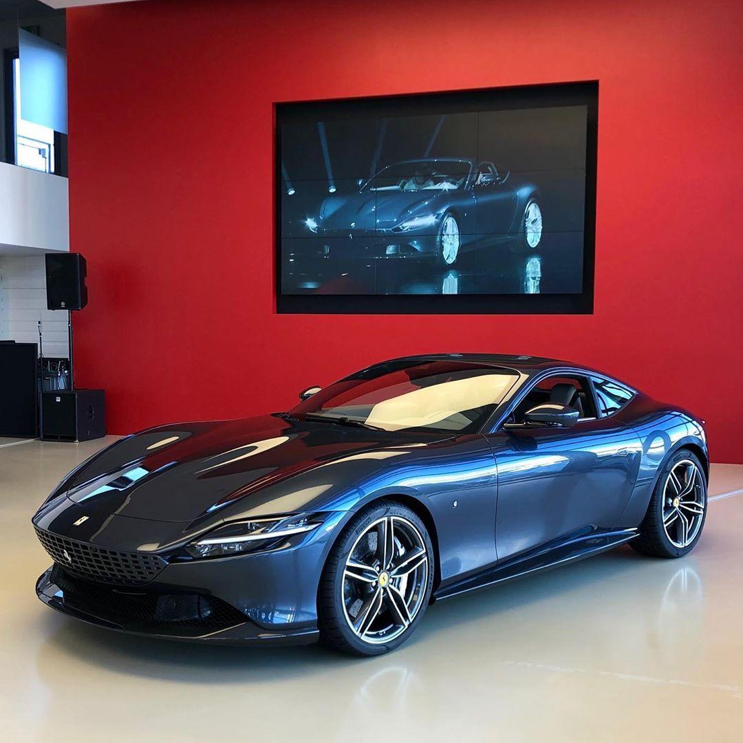 """Ferrari F8 Spider Silver: MODENA CARS No Instagram: """"The Ferrari Roma, F8 Tributo"""