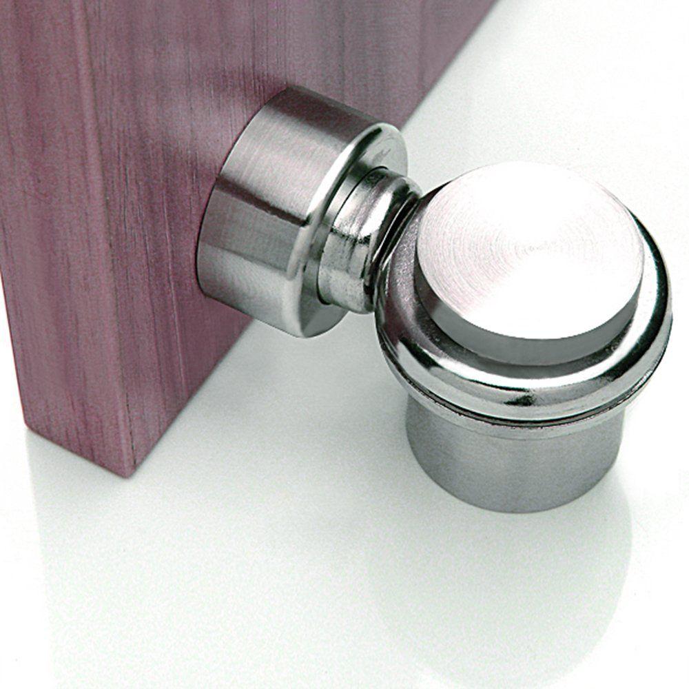 Alise Solid SUS 304 Stainless Steel Magnetic Door Stop Heavy Duty Door  Stopper Catch Metal Door Holder Conceal Screw Floor MounMX5007 Brushed  Finish ...