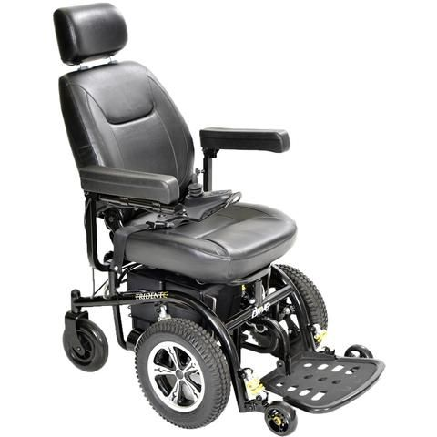 Drive Medical Trident Front Wheel Drive Power Chair Powered Wheelchair Power Chair Electric Wheelchair