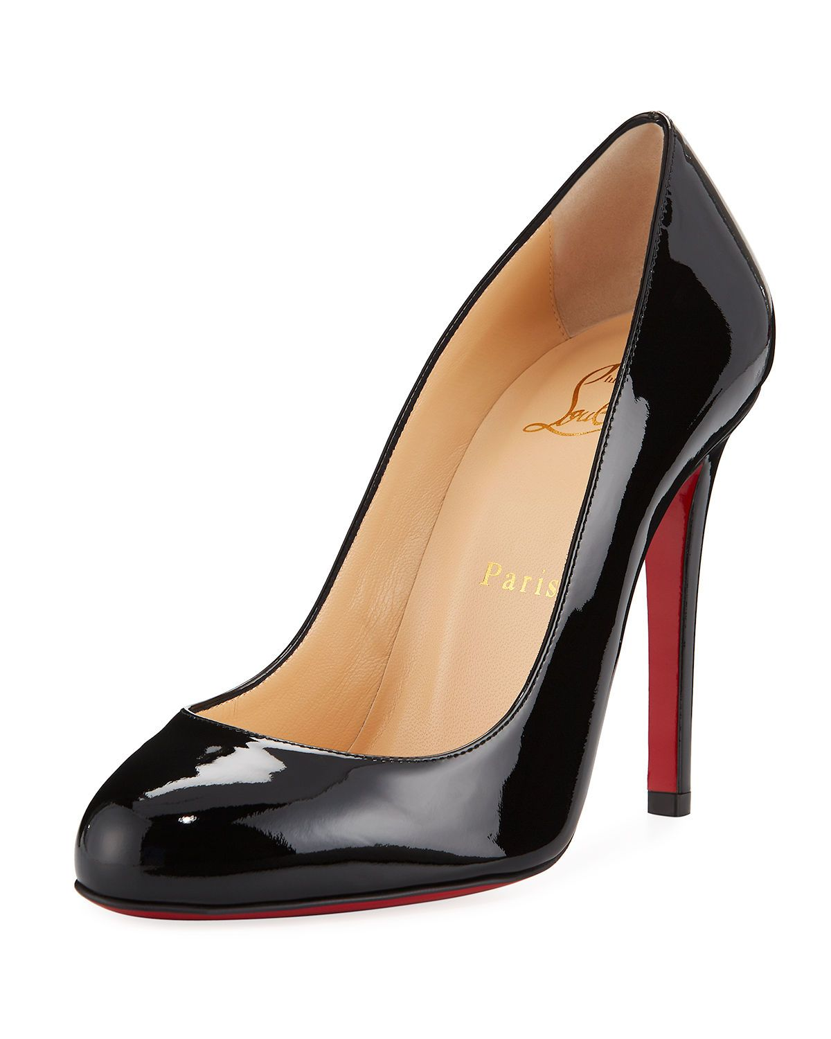 nouvelle arrivee bb54b b5ddd Christian Louboutin Fifille Patent Red Sole Pump in 2019 ...