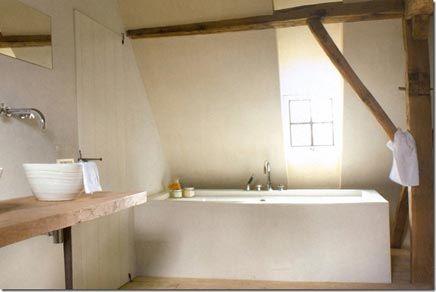 Badkamer Met Tadelakt : Tadelakt the handbuilt minimal home pinterest verf badkamer