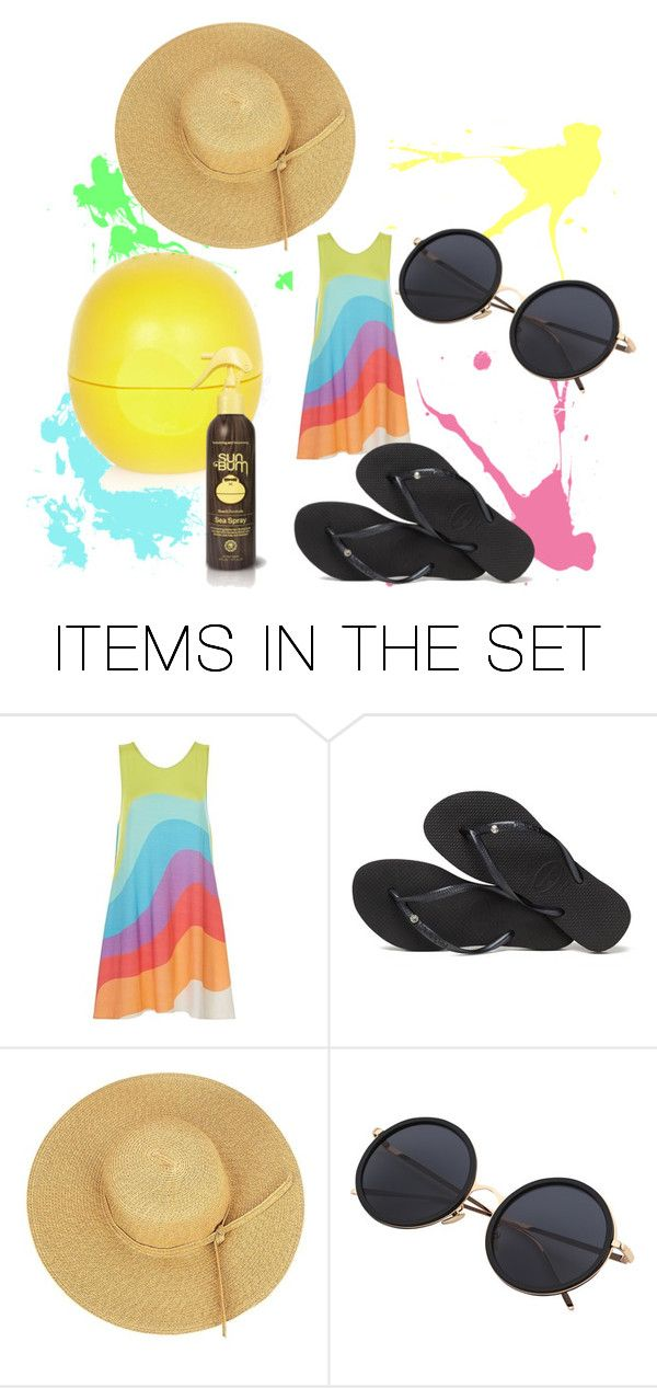 """color playa"" by marian-cd ❤ liked on Polyvore featuring art"