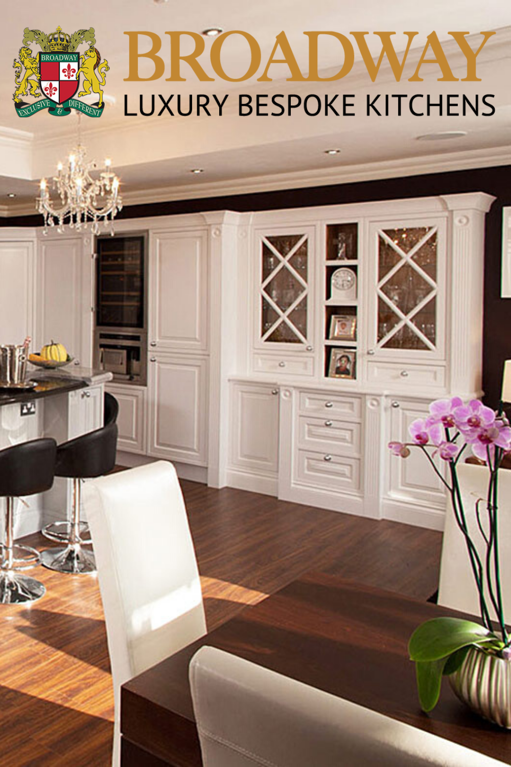 Broadway Hand Painted Edwardian Kitchen | Traditional kitchen designers