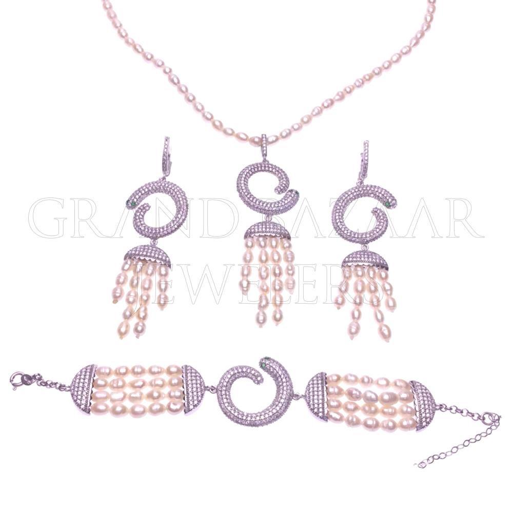 Modern designer silver sets