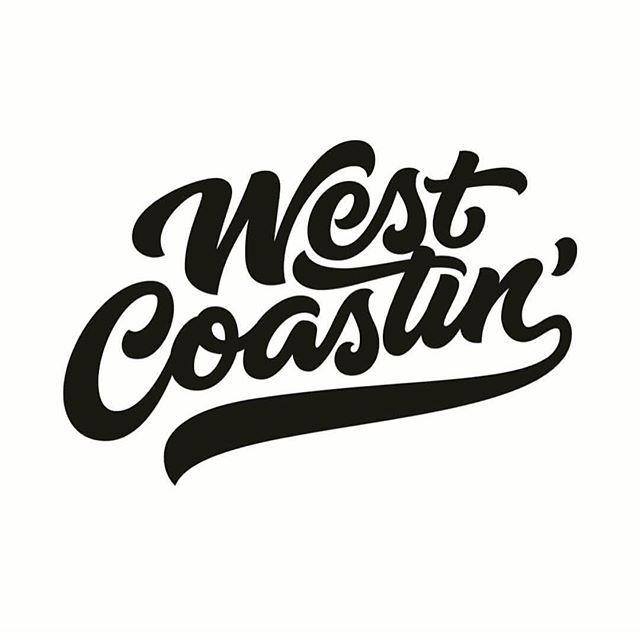 LOVE this lettering by @highpulpstudio  #westcoast #bestcoast #handlettering #typography #inspo