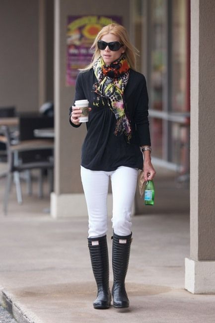 1000  images about Fashion - Rain Boots on Pinterest | Casual ...