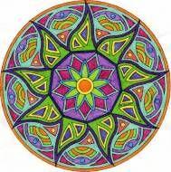 Mandala Colouring Ideas Background