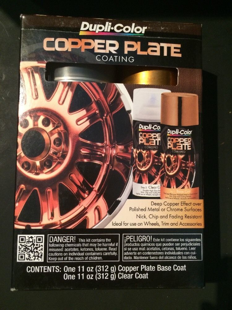 DupliColor CK100 Copper Plate Coating Kit Copper plated