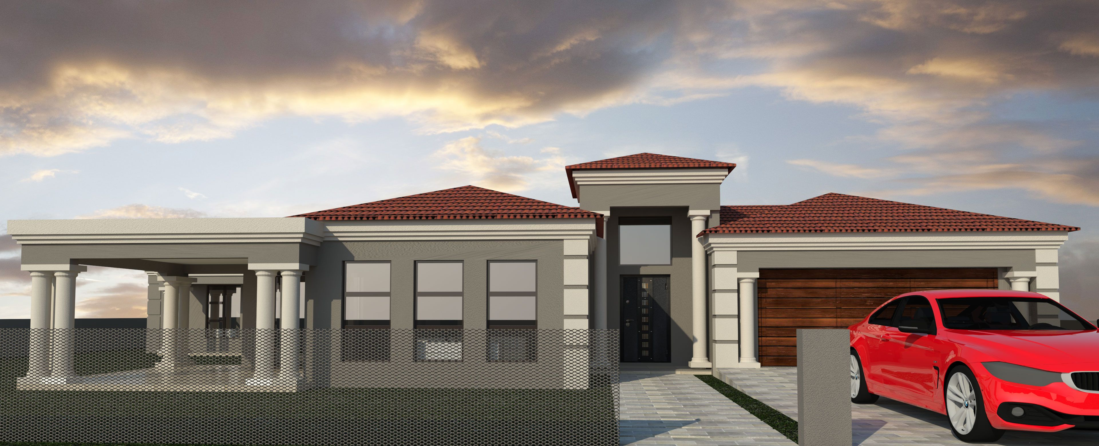 3 Bedroom House Plan BLA021.1S My house plans, House
