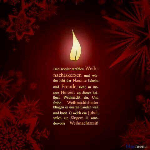Pin von Marga Whigham auf Advent | Pinterest | Weihnachten, Gedicht ...
