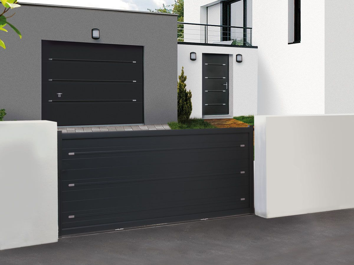 belle harmonie de portail porte et portillon l. Black Bedroom Furniture Sets. Home Design Ideas