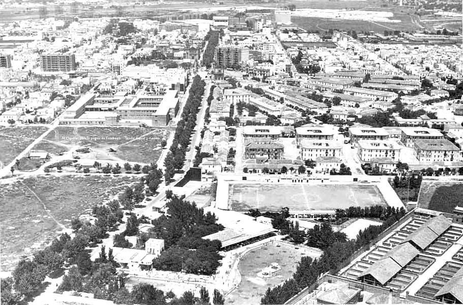 1963 piscinas sevilla mi infancia juegos costumbres for Piscina ciudad jardin sevilla