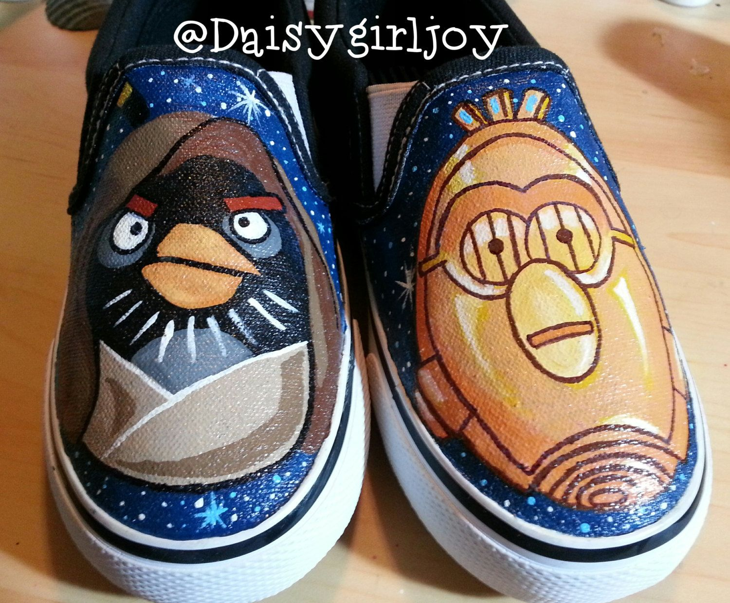 Custom Shoes ToddlerKids Star Wars Angry Birds Shoes