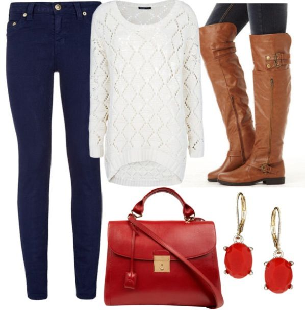 The perfect fall outfit!