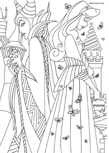 Your Favorite Tales Maleficent Disney Coloring Pages Barbie Coloring Pages Disney Princess Coloring Pages