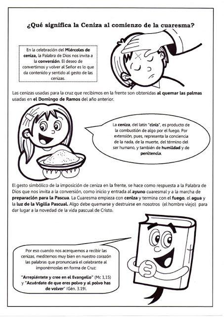 PASATIEMPOS Y CRUCIGRAMAS: Pasatiempos para Miércoles de ceniza ...