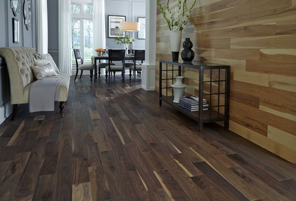 Matte American Walnut Floors Hardwood Flooring