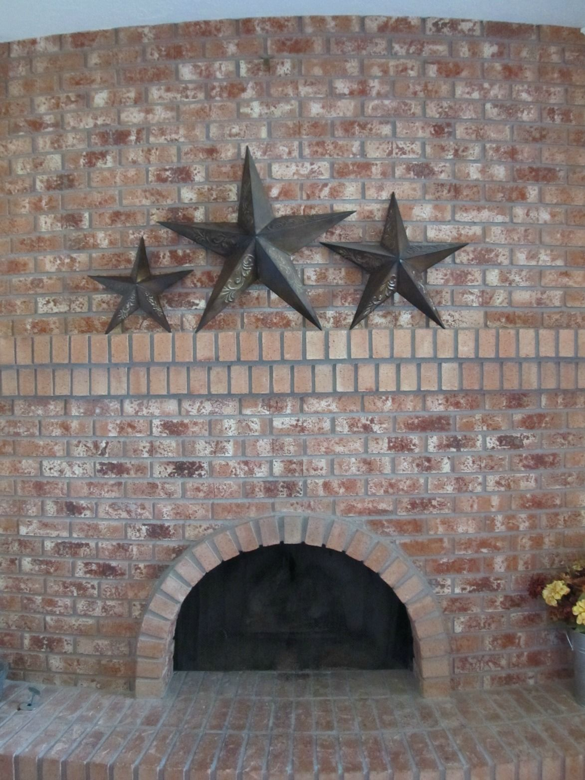 Hang Items On Brick Without Drilling Great Idea Pinterest
