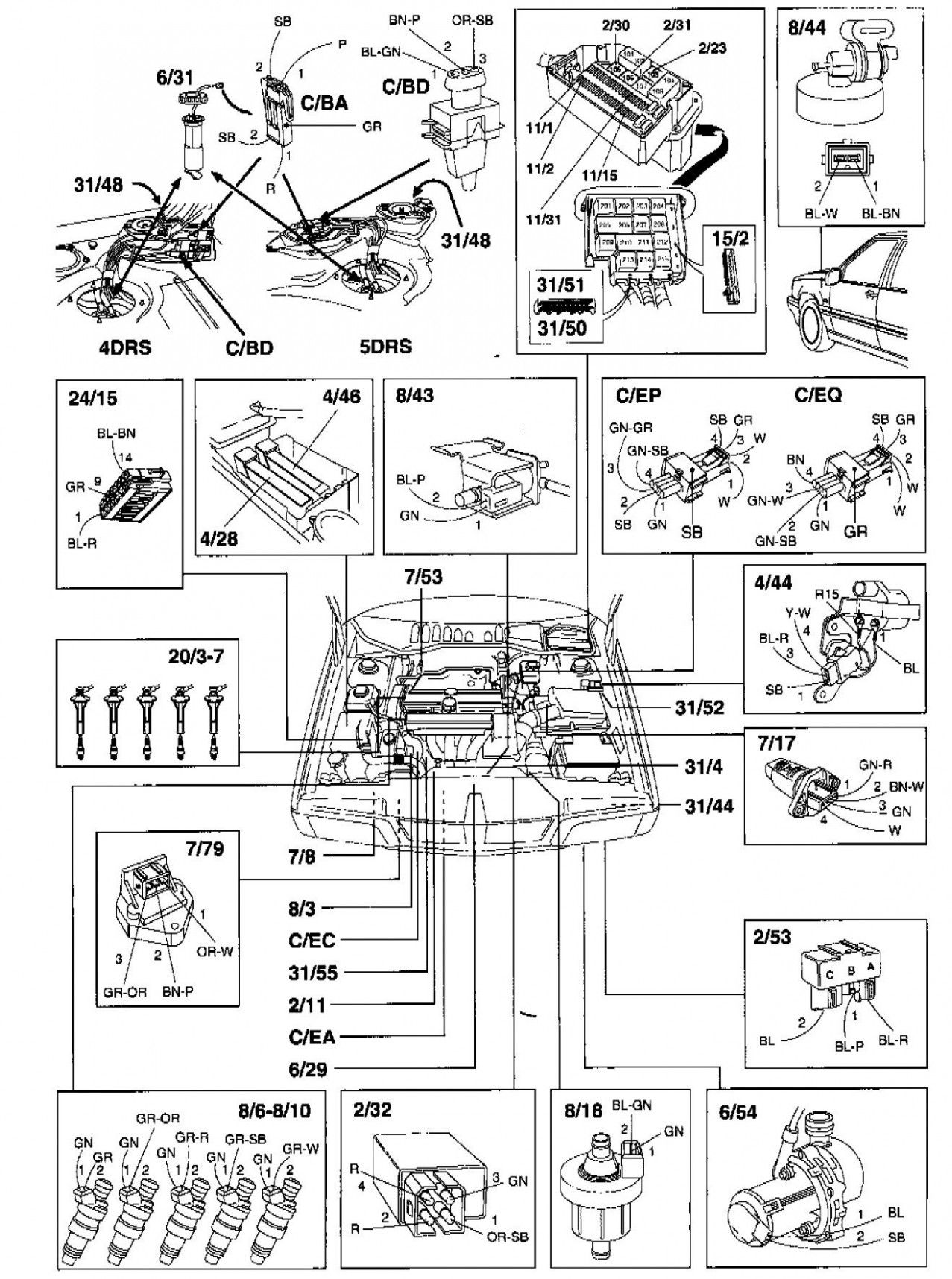 Volvo S5 T5 Engine Diagram | Volvo s60, Volvo, Diagram | Volvo S60 Wiring Diagram |  | Pinterest