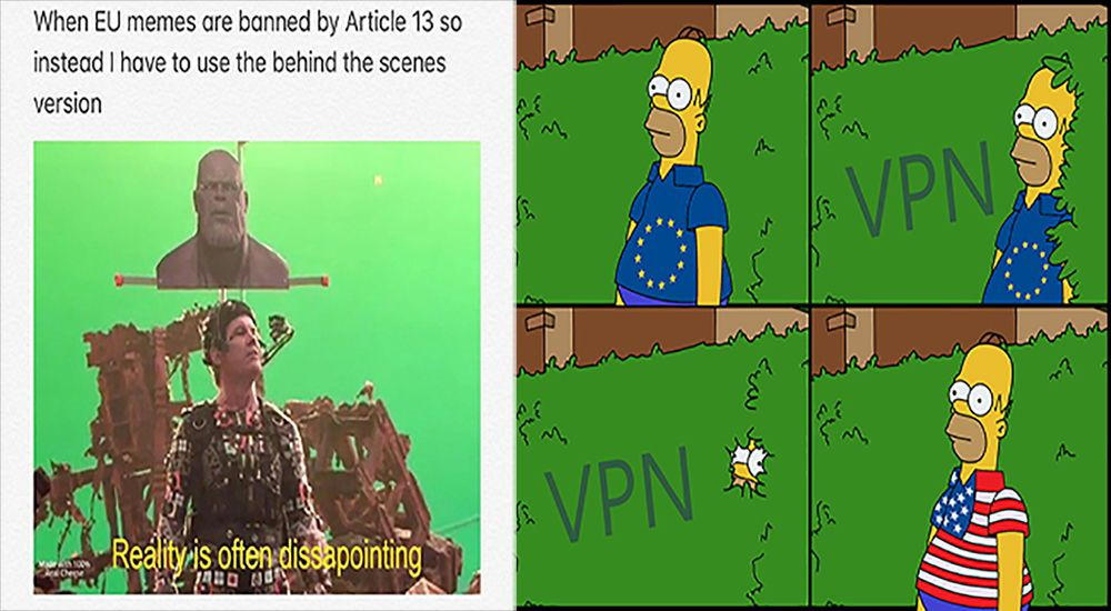 The Best Of Eu Passing Article 13 Memes Memes Marvel Funny Funny Memes