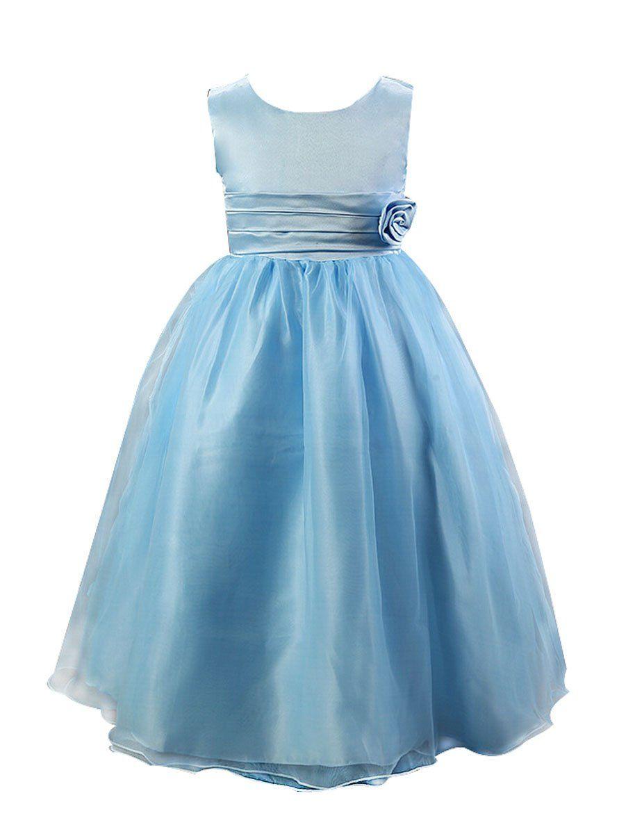 Smithroad Kinder Madchen Prinzessin Blumenmadchen Kleid Lang