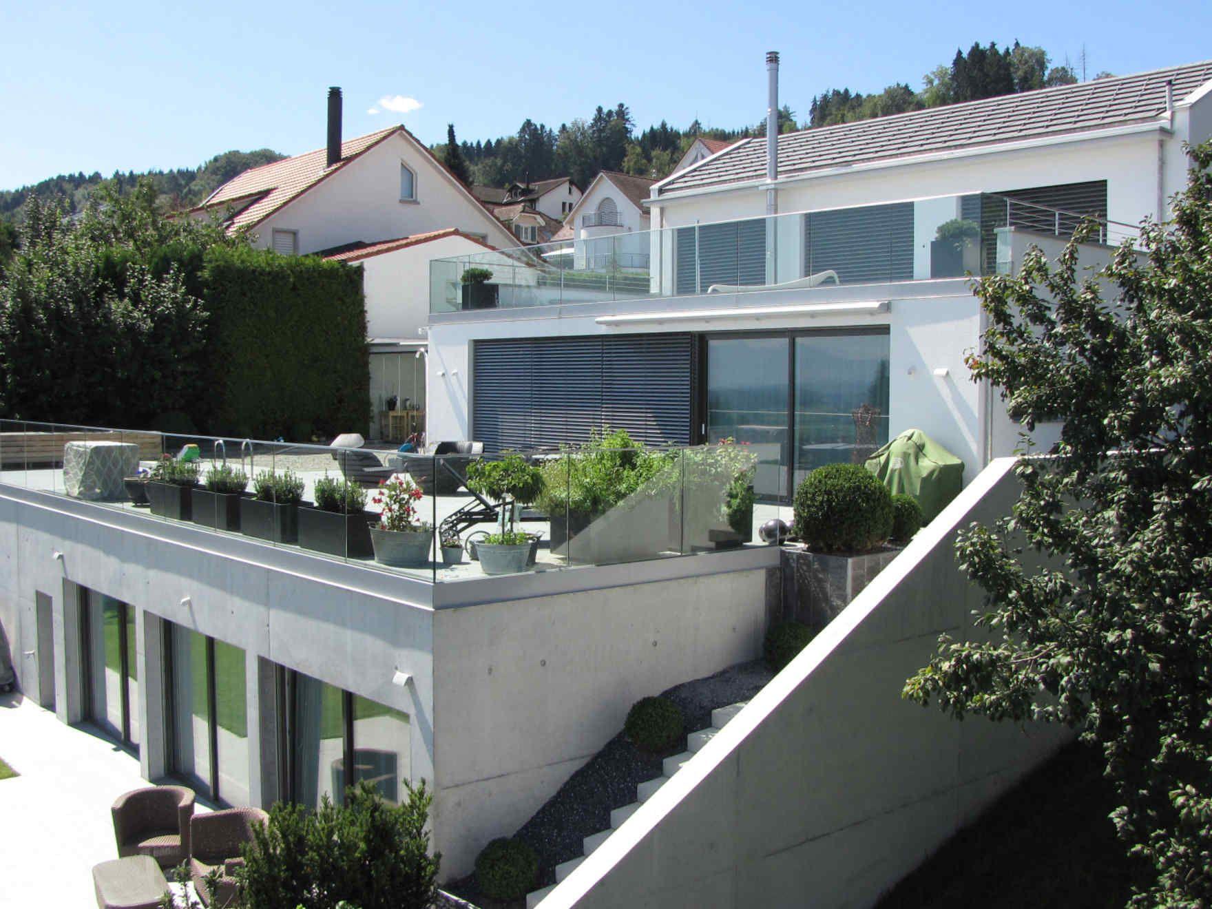 "Fertighaus Architects ""Villa White Terraces"" Architektur"