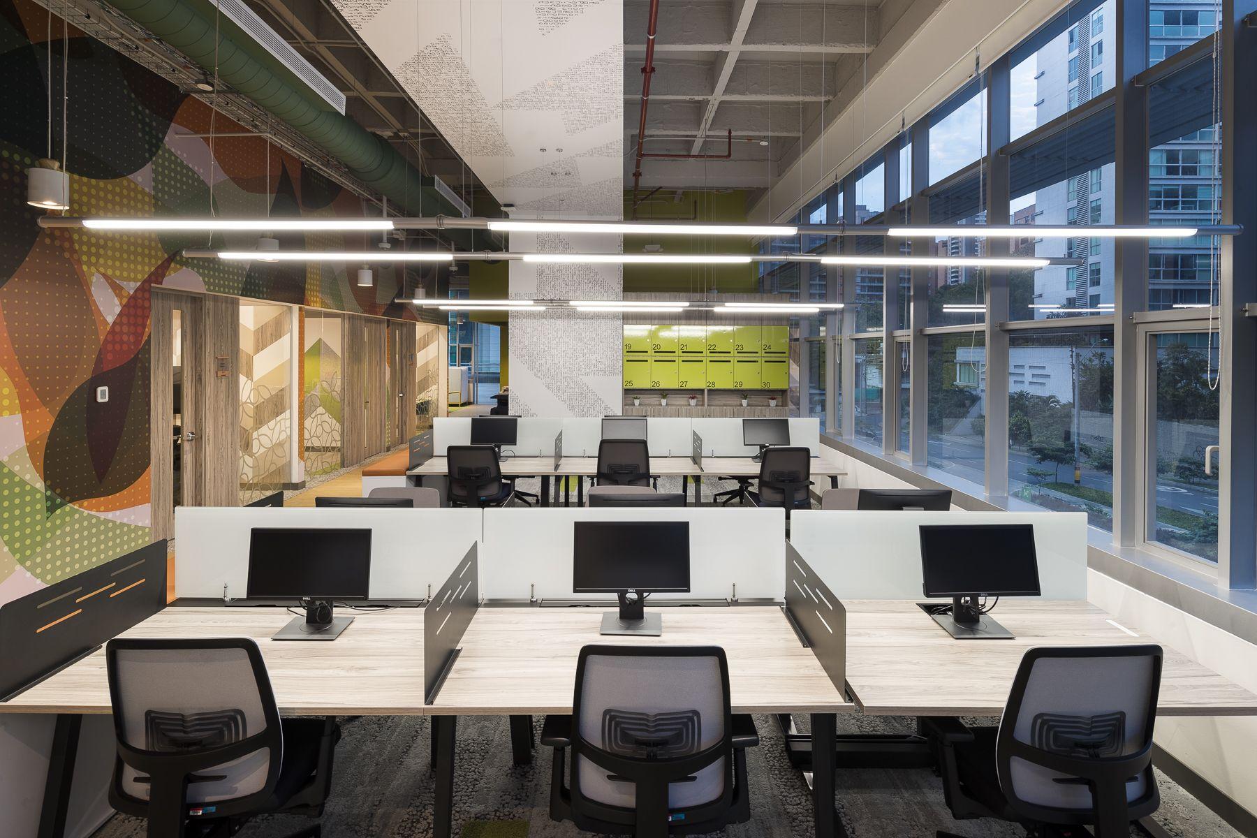 Oficinas Microsoft Medellín Diseño Arquitectura e Interiores